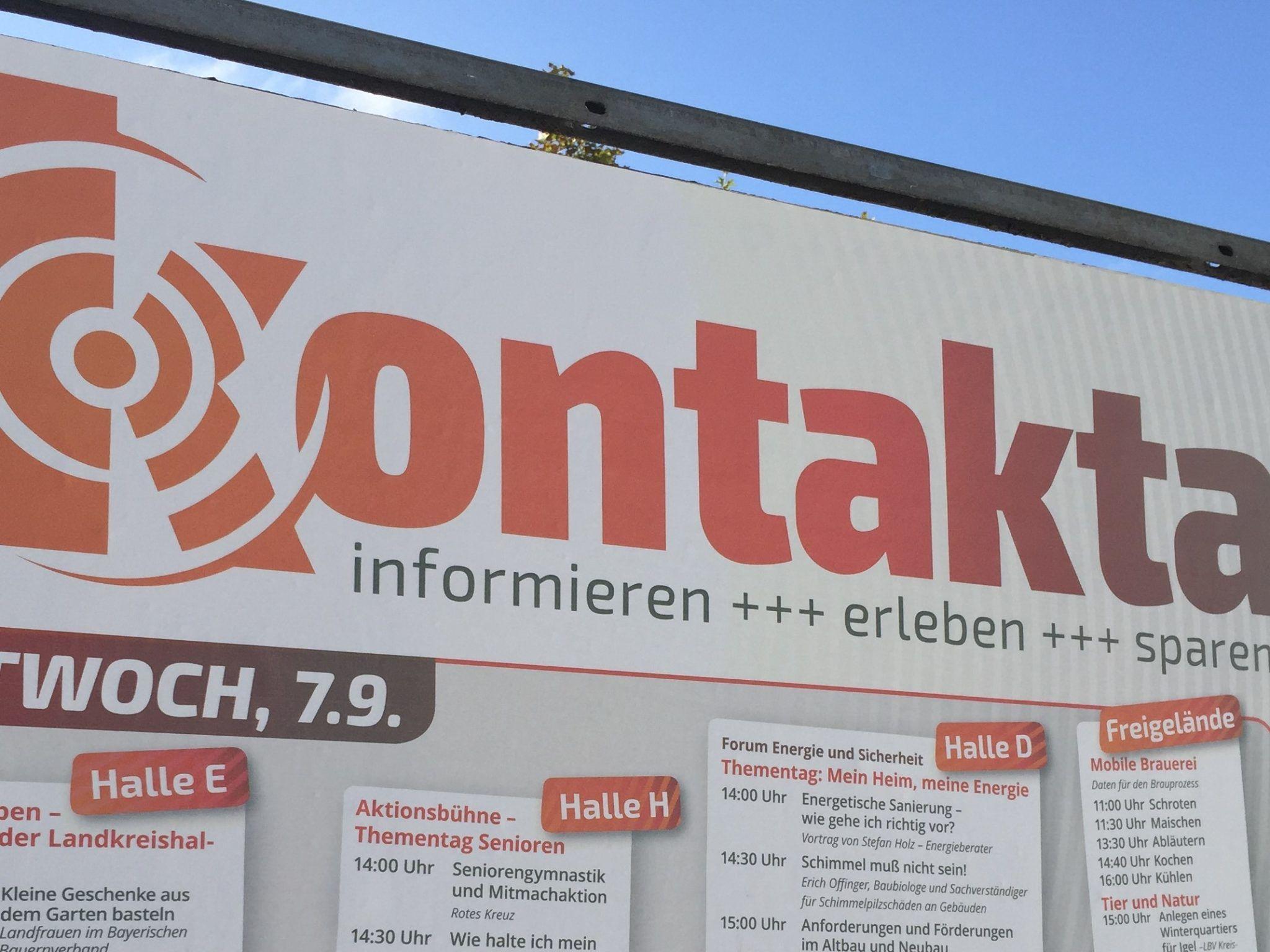 Parkplatz gesperrt: Kontakta-Aufbau beginnt am Montag – fränkischer.de