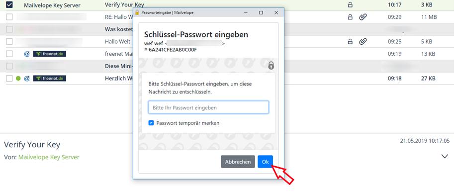 11_Einrichten der E-Mail-Verschlüsselung in Google Chrome