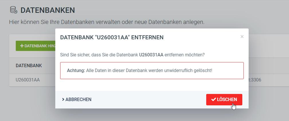 Datenbank_löschen_freenetDomain
