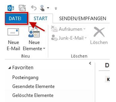 Einrichtungshilfe Outlook 2013-1a