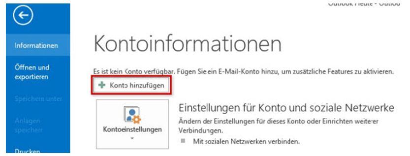 Einrichtungshilfe Outlook 2013-1b