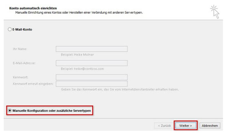 Einrichtungshilfe Outlook 2013-2