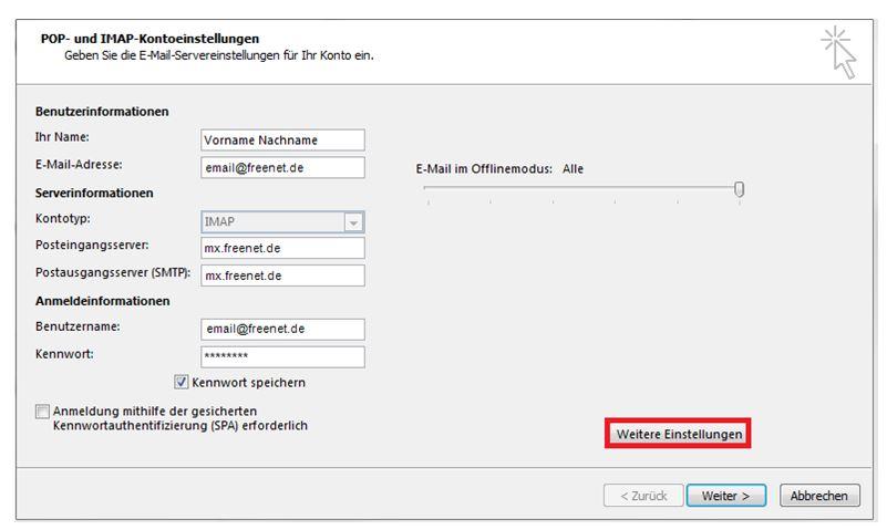 Einrichtungshilfe Outlook 2013-4