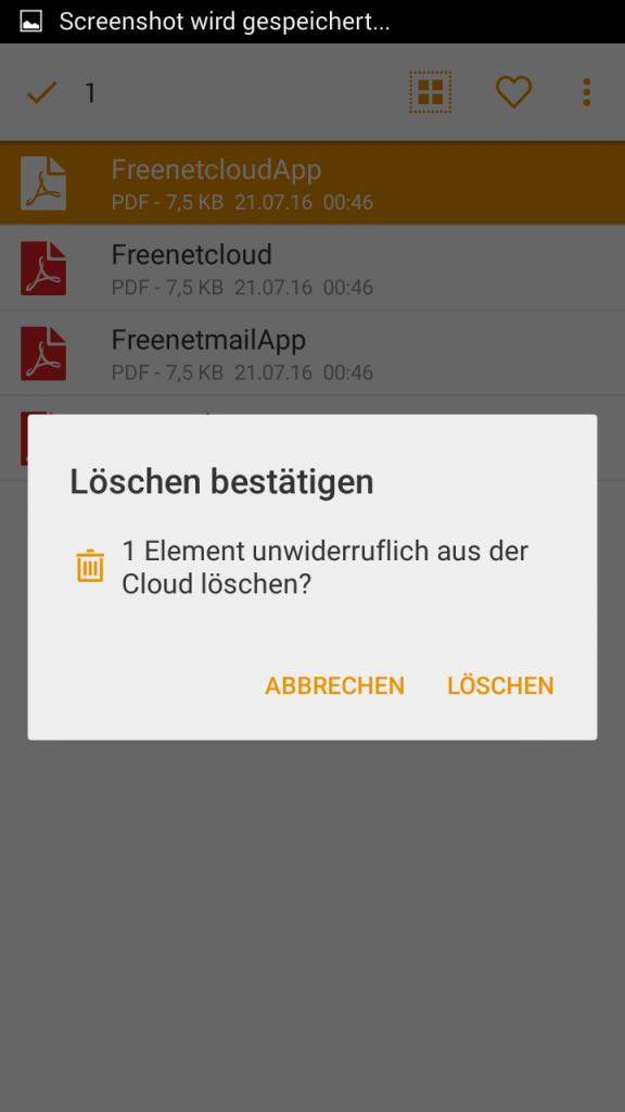 Heruntergeladenen Datei entfernen 2