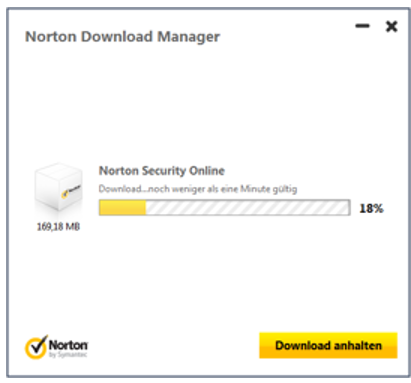 Schirtt 4 Produktinstallation Norton Security
