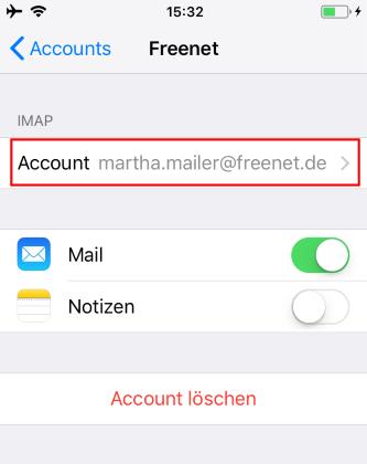 emails empfangen auf handy