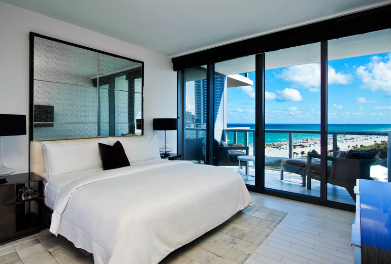 The W South Beach Hotel  another day in Paradise. The W South Beach Hotel  another day in Paradise    Classy and