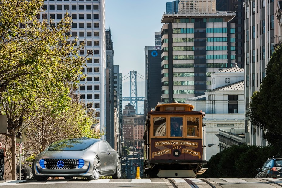 Mercedes Benz F 015 Luxury In Motion In San Francisco