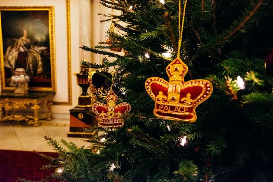 the british royals are getting into the festive spirit at buckingham palace and are very excited to share with us a few photographs of their christmas - Royals Christmas Ornament