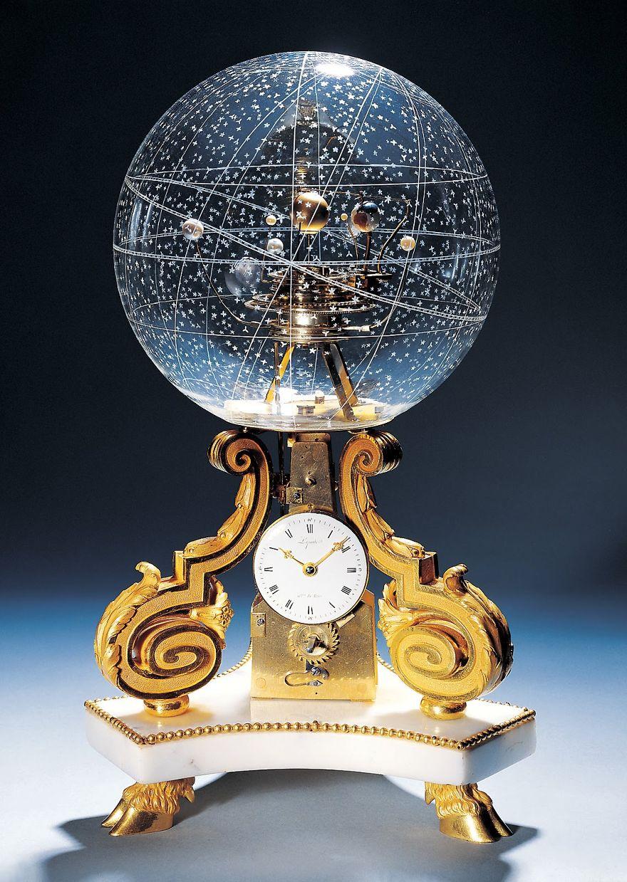 Космическая тема в интерьере - часы Планетарий