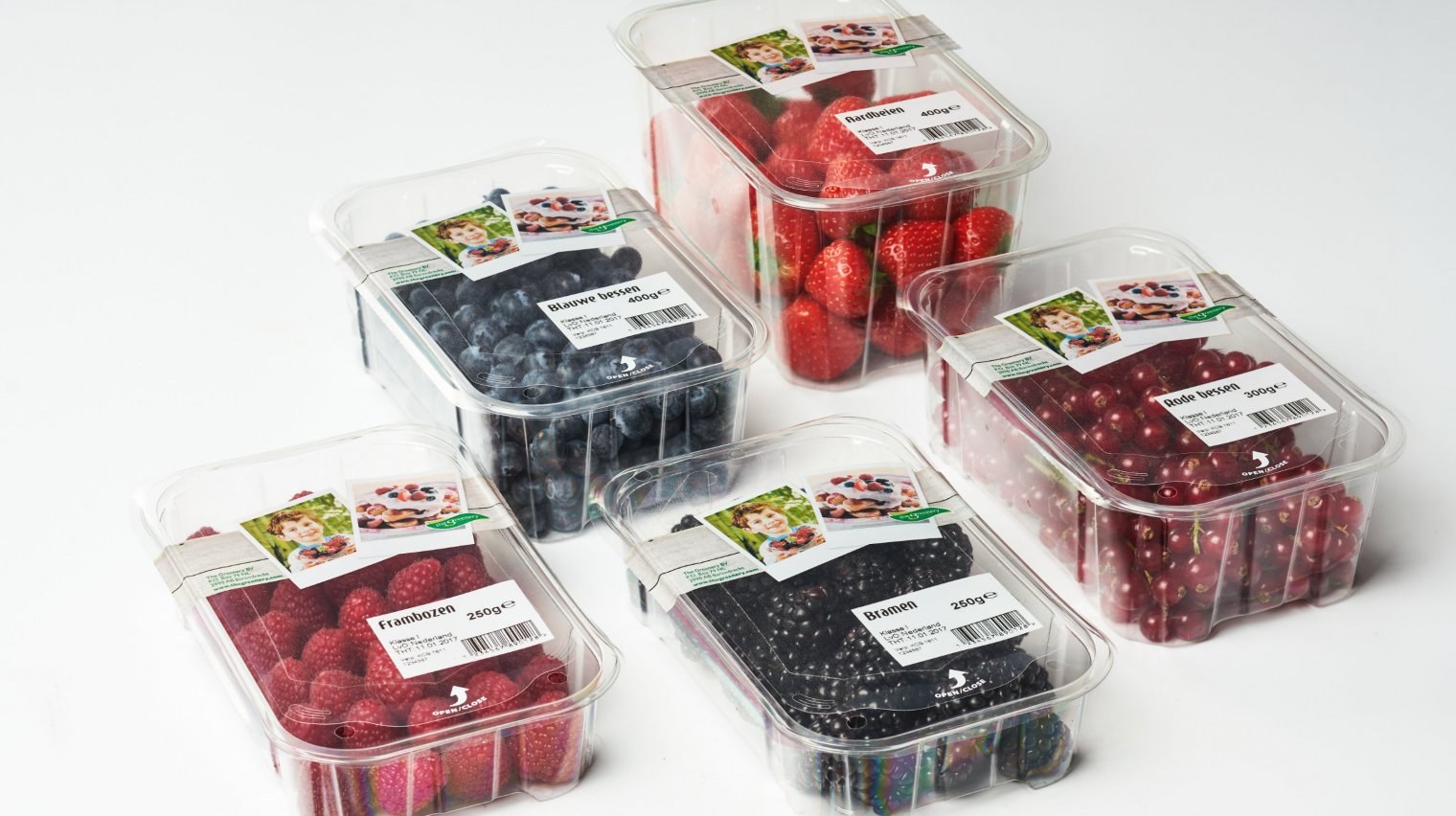 topseal packaging for soft fruit