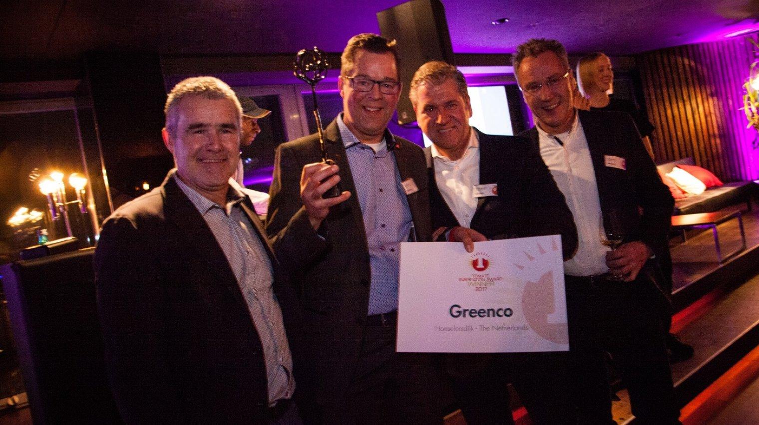 Greenco award 2017