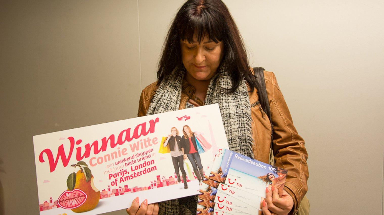 Connie Witte winnaar Sweet Sensation
