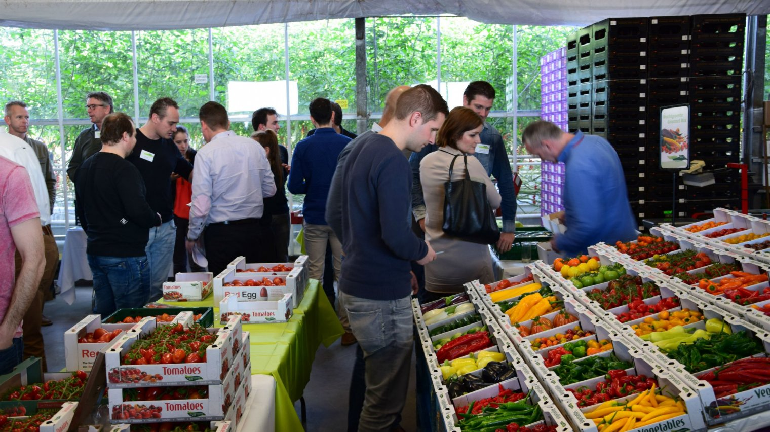 Opening specialty vruchtgroentenseizoen