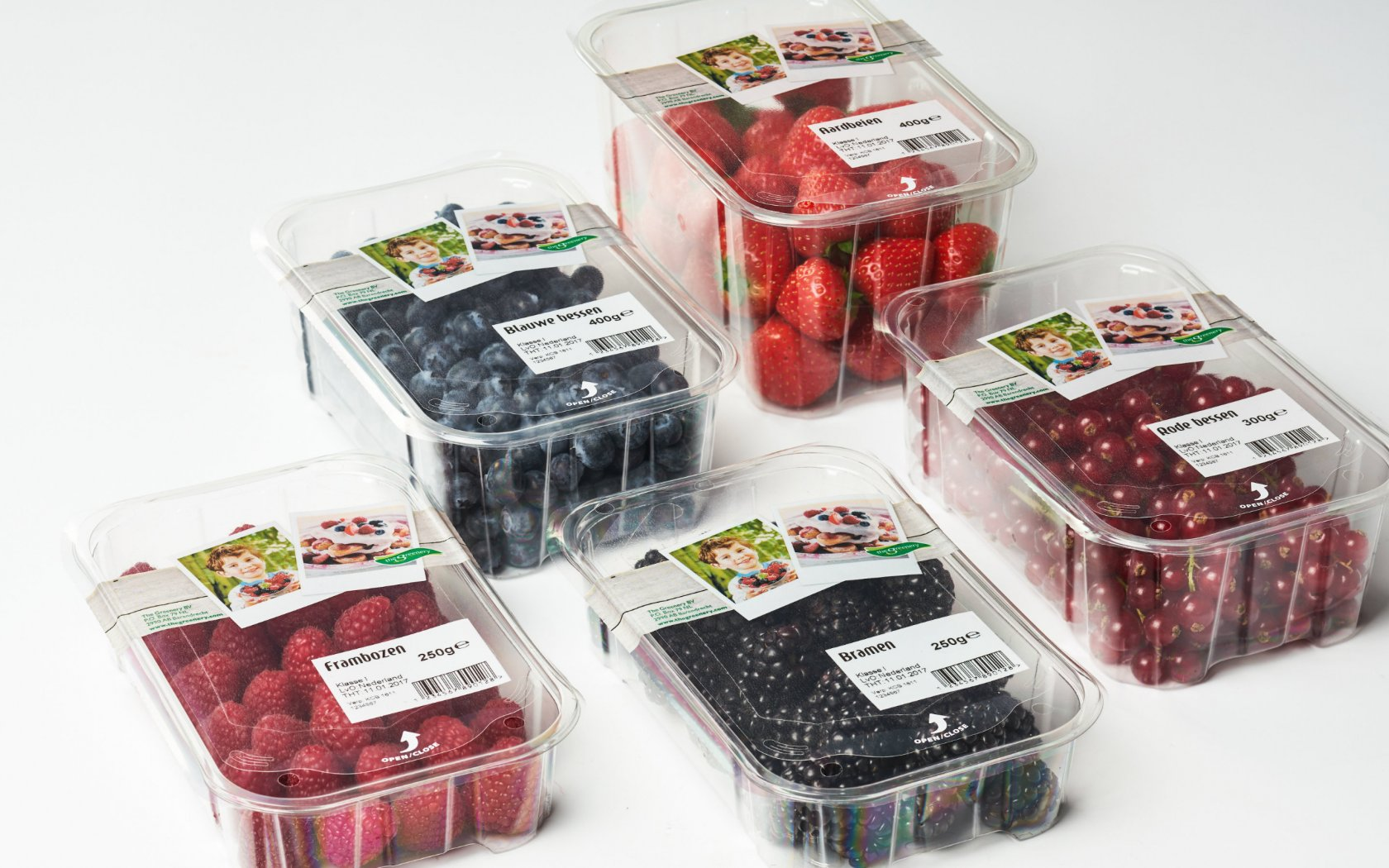 topseal verpakkingen zachtfruit