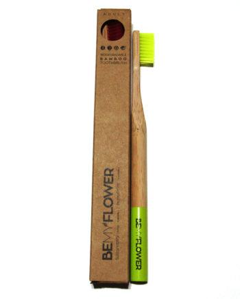 Οδοντόβουρτσα μπαμπού Ενηλίκων BeMyFlower soft
