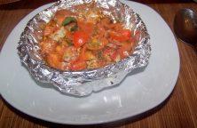 Garnelen in Tomaten-Kräutersud