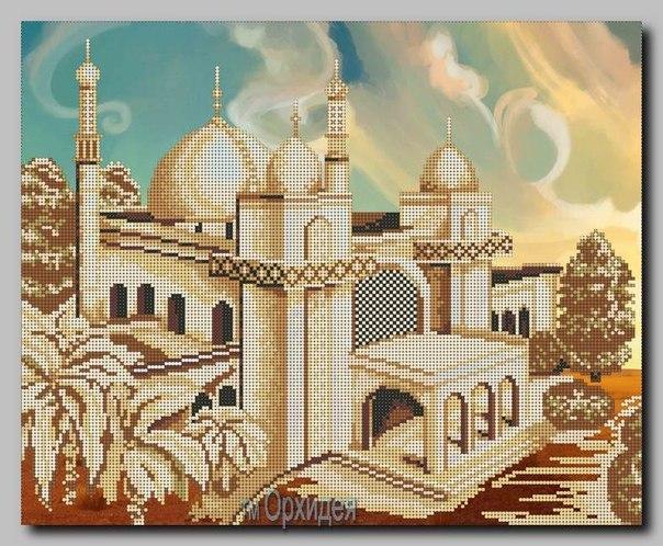 Вышивка бисером мечеть схемы