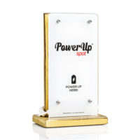 power-up-spot-tabletop-charger-customised-cafe-restaurant-bar-hotel-antique-gold