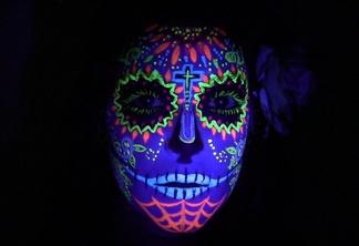 Rave face paint 1