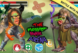 Monsterbattle arena