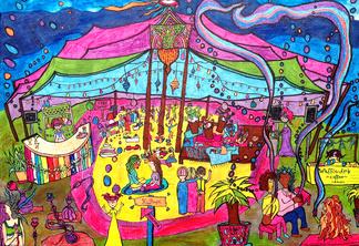 Kashmiri bazaar   klaras gosbild!