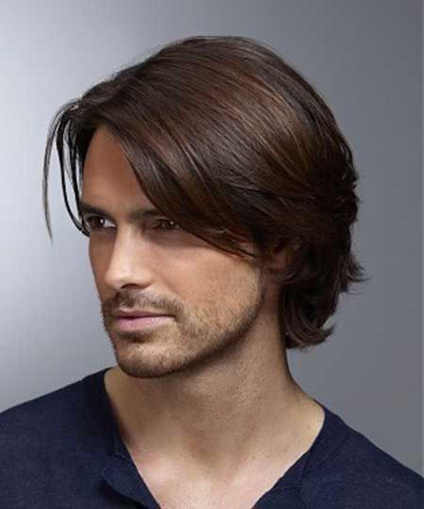 Фото мужские прически для длинных волос