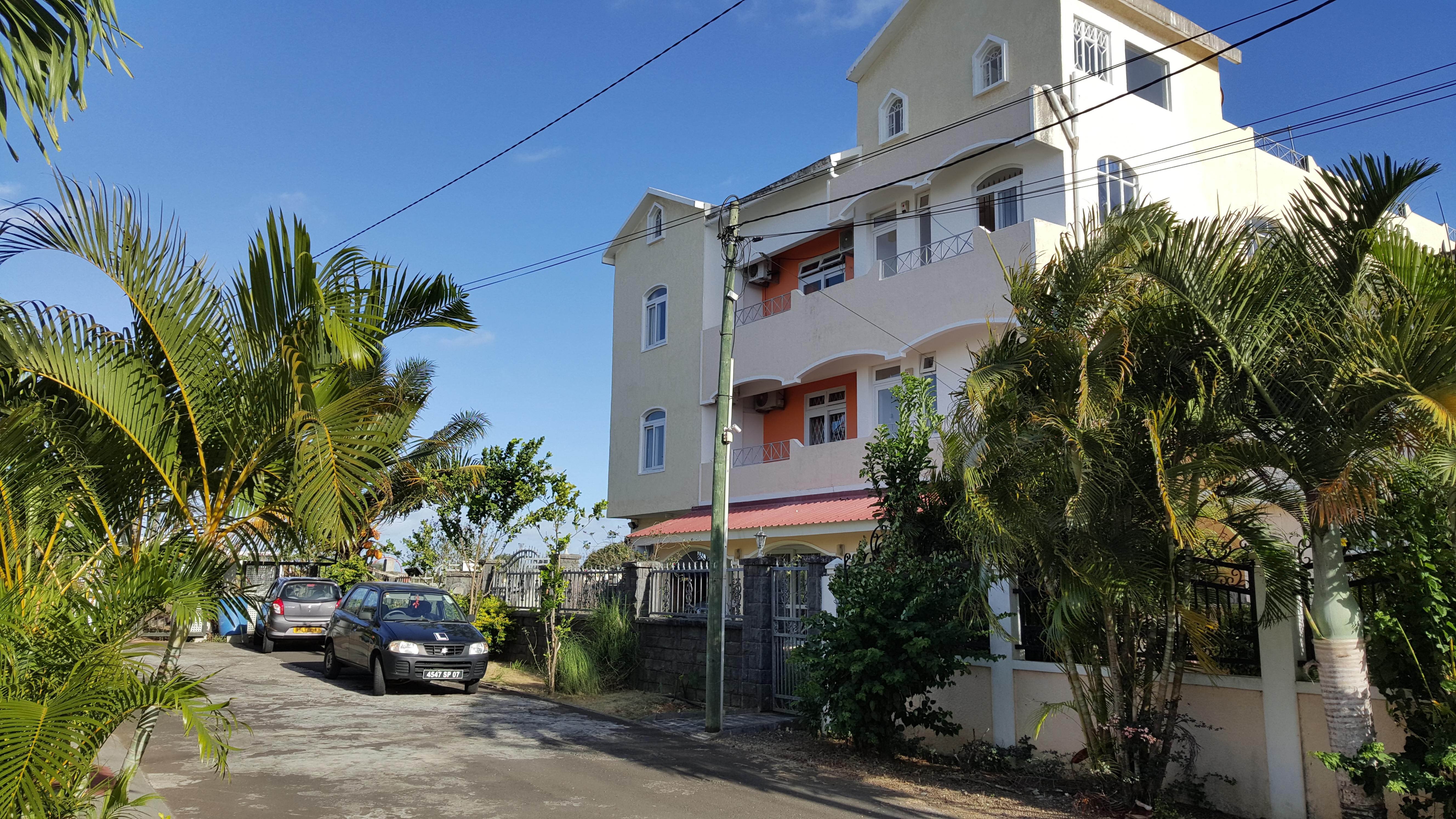 Trou-aux-Biches, Mieten Mauritius Selbstverpflegung Wohnung 200 m zu Trou aux Biches beach.Free 24/7 wifi