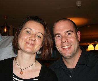 James Scramko i Justyna Bizdra Londyn 2010