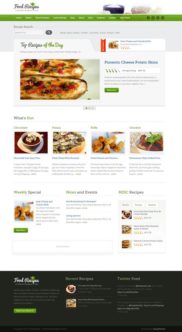 Profesjonalny blog kulinarny