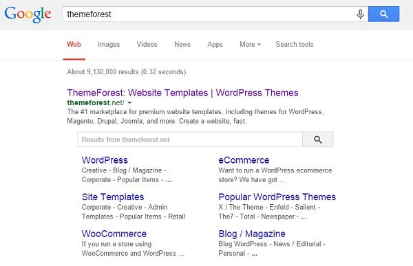Wyświetlanie w wyszukiwarce Google