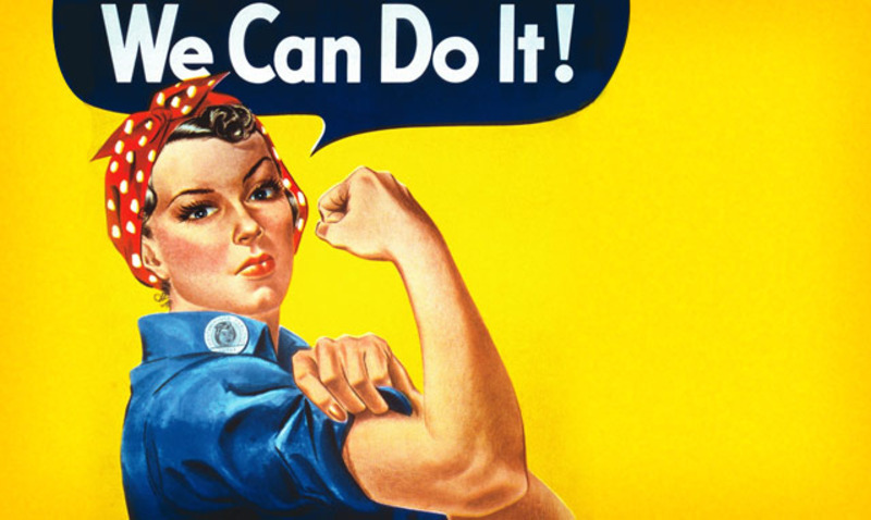 Rosie the Riveter/ AFP/ Getty Images