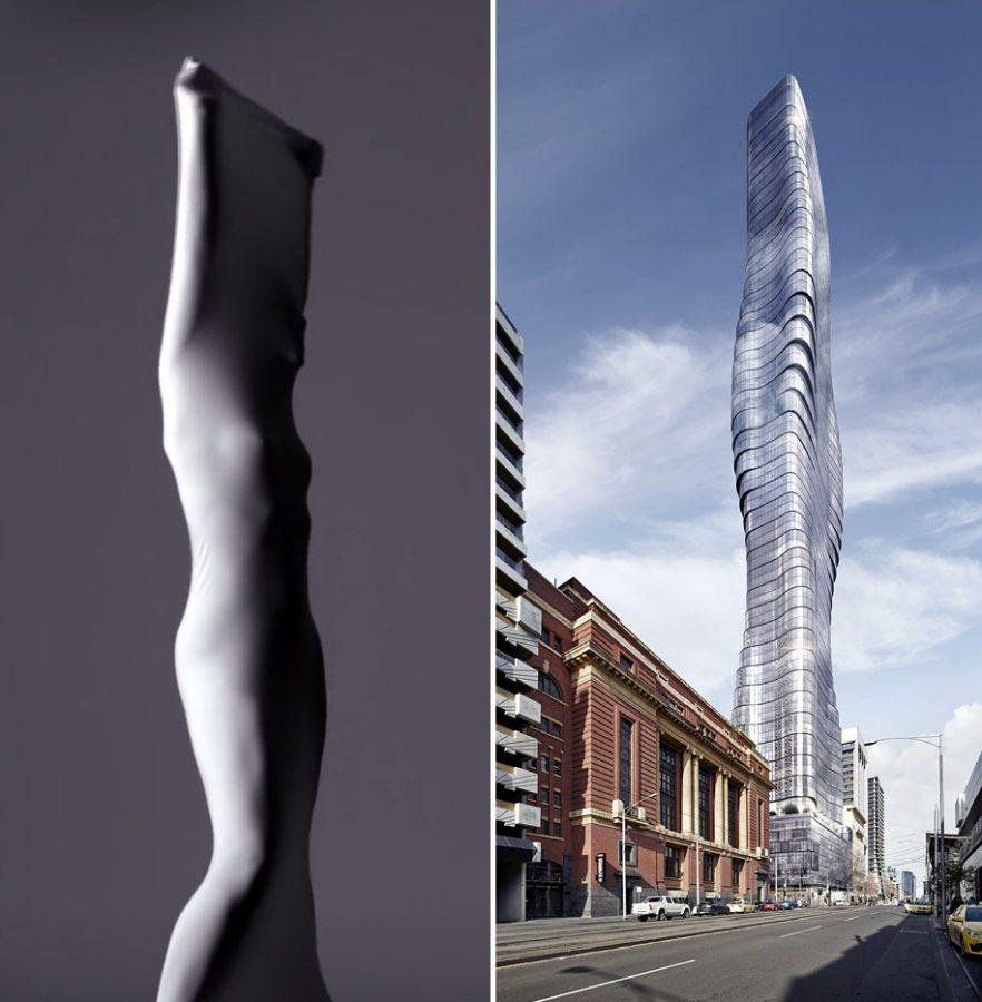 مبنى البريميير تاور بميلبورن، أستراليا. المبنى من تصميم الينبيرج فريزر، الصورة توضيحية وليست من ضمن الصور المستخدمة داخل المشروعات المذكورة
