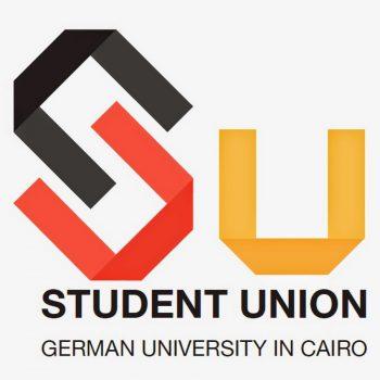 شعار اتحاد الطلبة بالجامعة الألمانية بالقاهرة