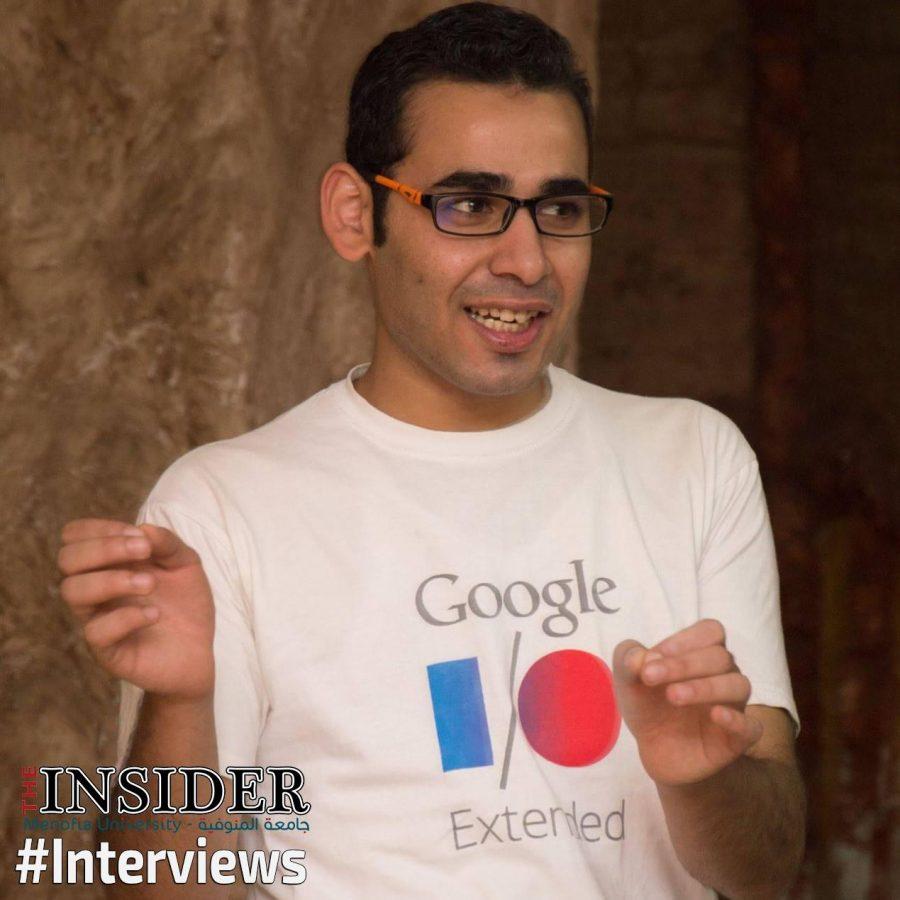 طارق مندور في تدريب جوجل .