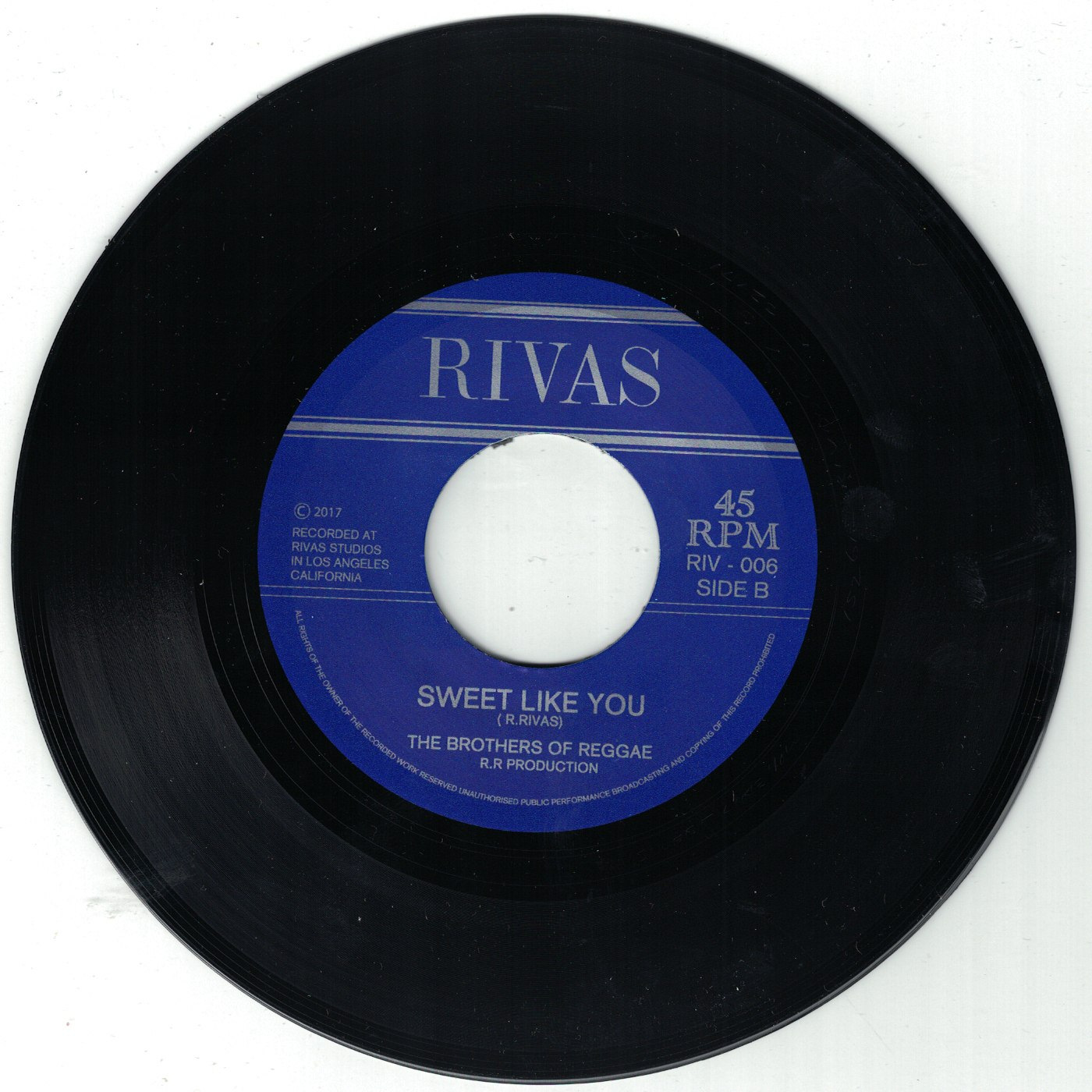 Roger Rivas & The Brothers Of Reggae - Into The Gates / Sweet Like You