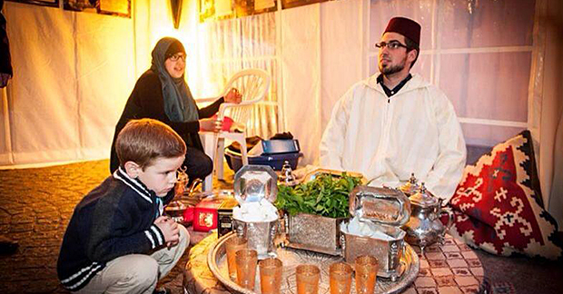 Foto: Hamburger Ramadan-Pavillon | A. List