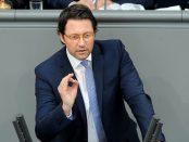 CSU-Politiker Scheuer gehört zu den lautesten Stimmen, die Loyalität von Deutschtürken einfordern.Foto: Deutscher Bundestag / Lichtblick/Achim Melde