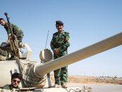Einheiten der irakisch-kurdischen Peschmerga. Sie sollen auch bei der Rückeroberng von Mossul eingesetzt werden.Foto: Boris Niehaus |Lizenz: CC BY-SA 3.0