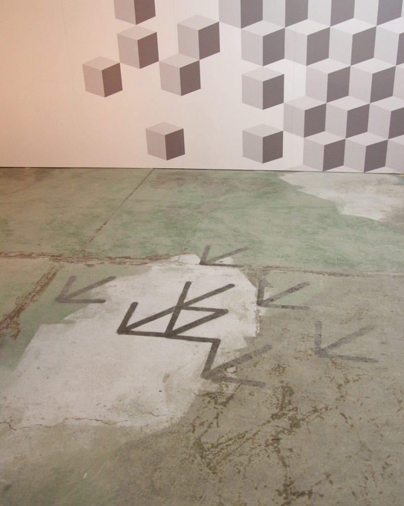 wayfinding elements for Design Łódź
