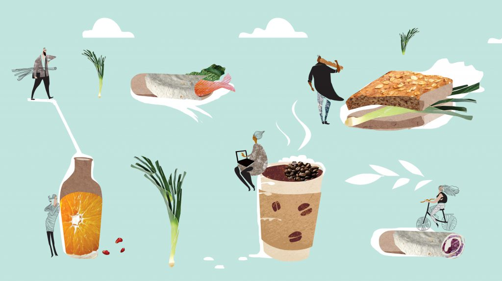 foodproject illustrations