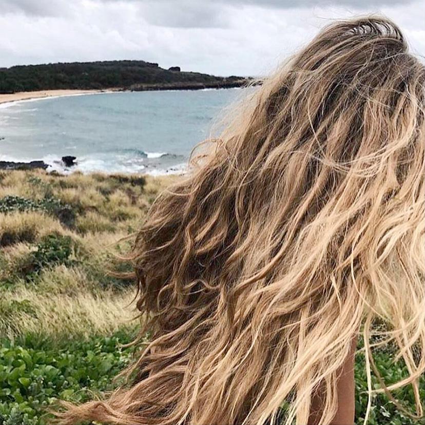 Beachwaves am Meer