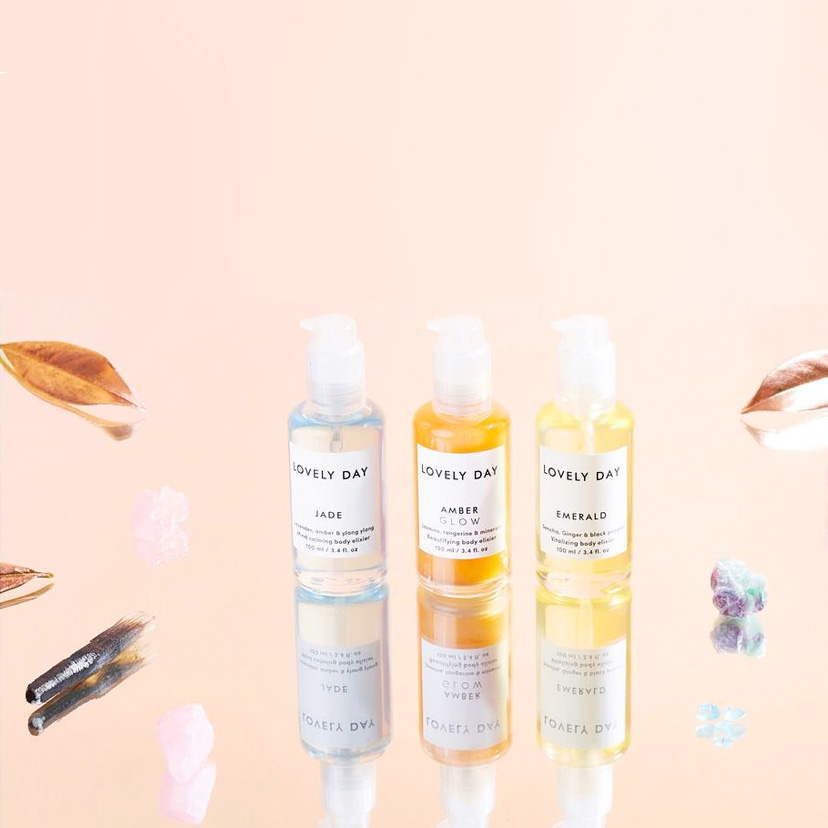 Crystal Collection von Lovely Day Botanicals