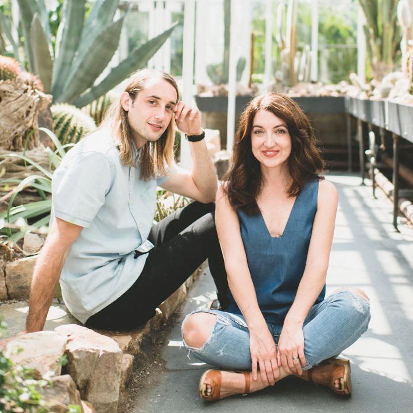Julia und Alex, die Gründer von Herbivore Botanicals