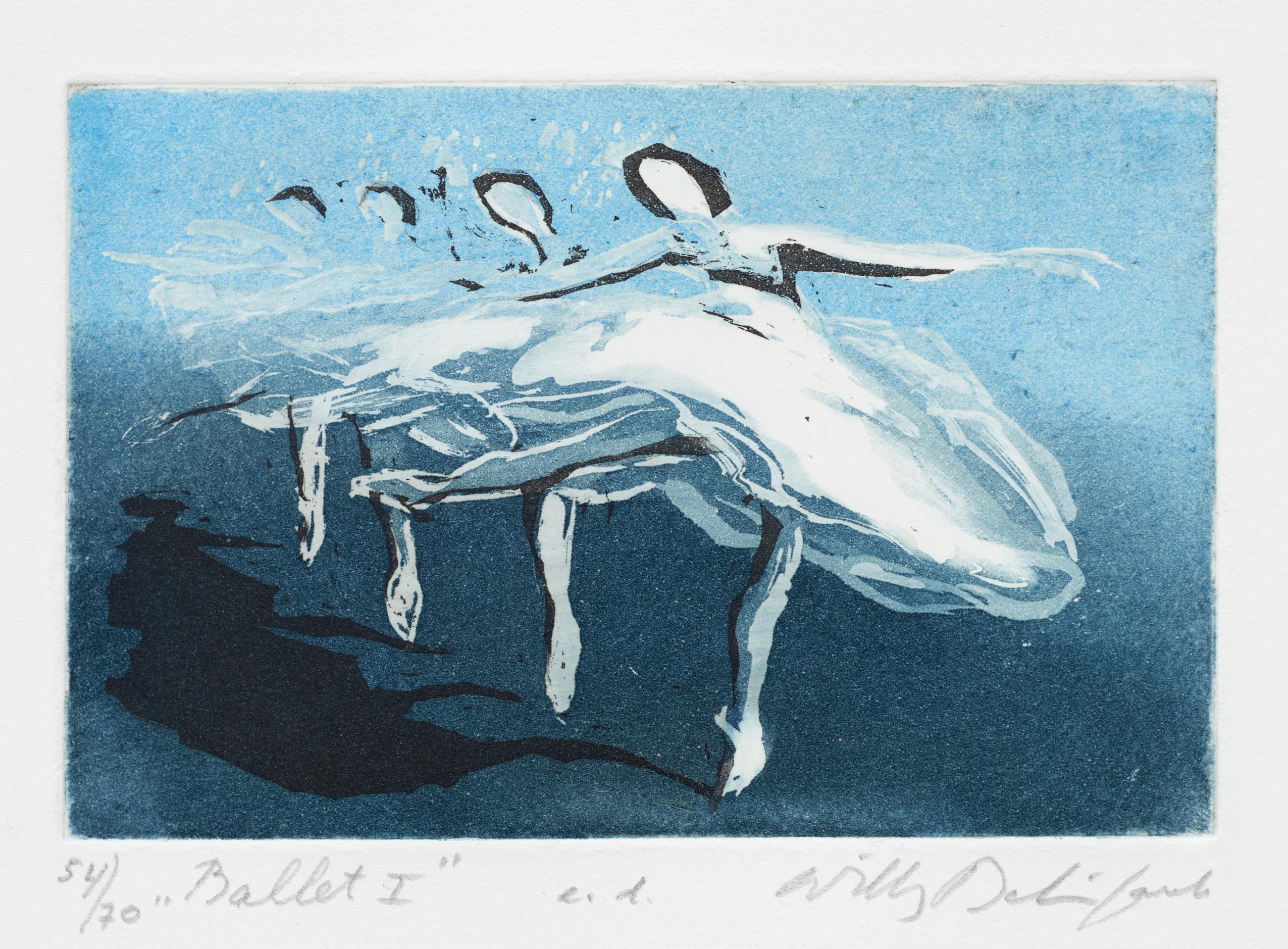 Willy belinfante  ballet i  zonder nummer  40 x 30 cm.  e. 120 00