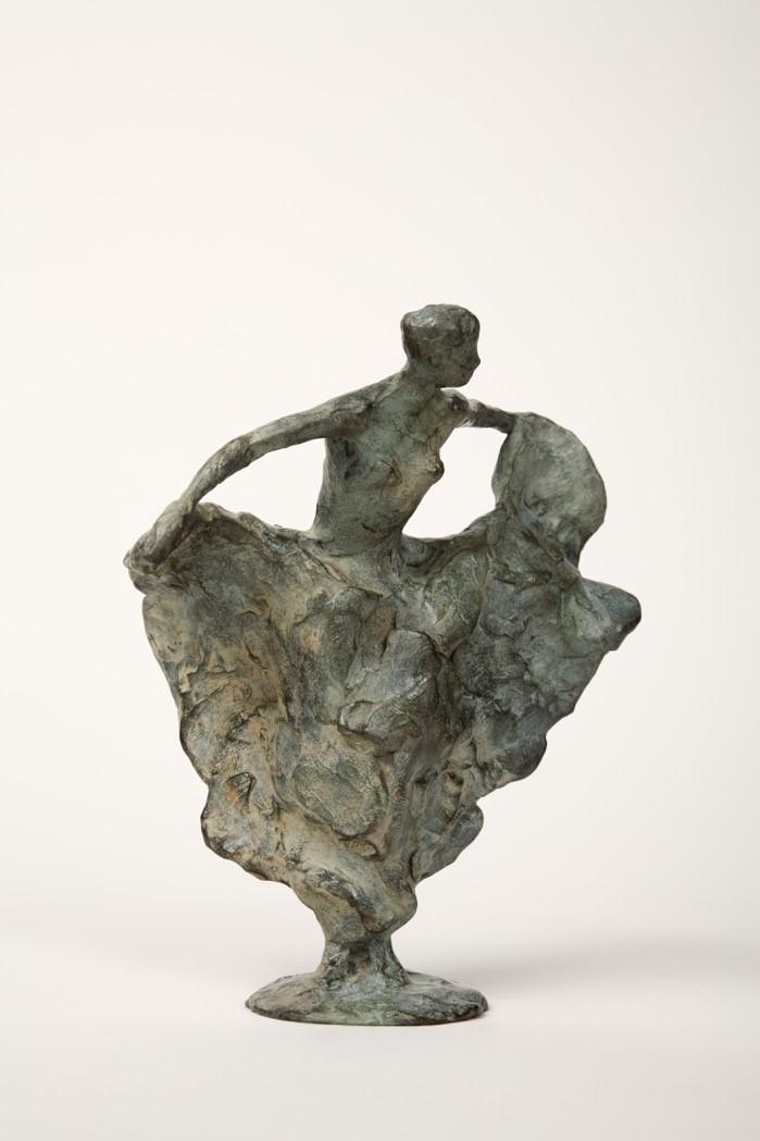 Annette koek  vlinder  grote versie   brons  18 cm hoog  e. 895 00  .jpg %283%29