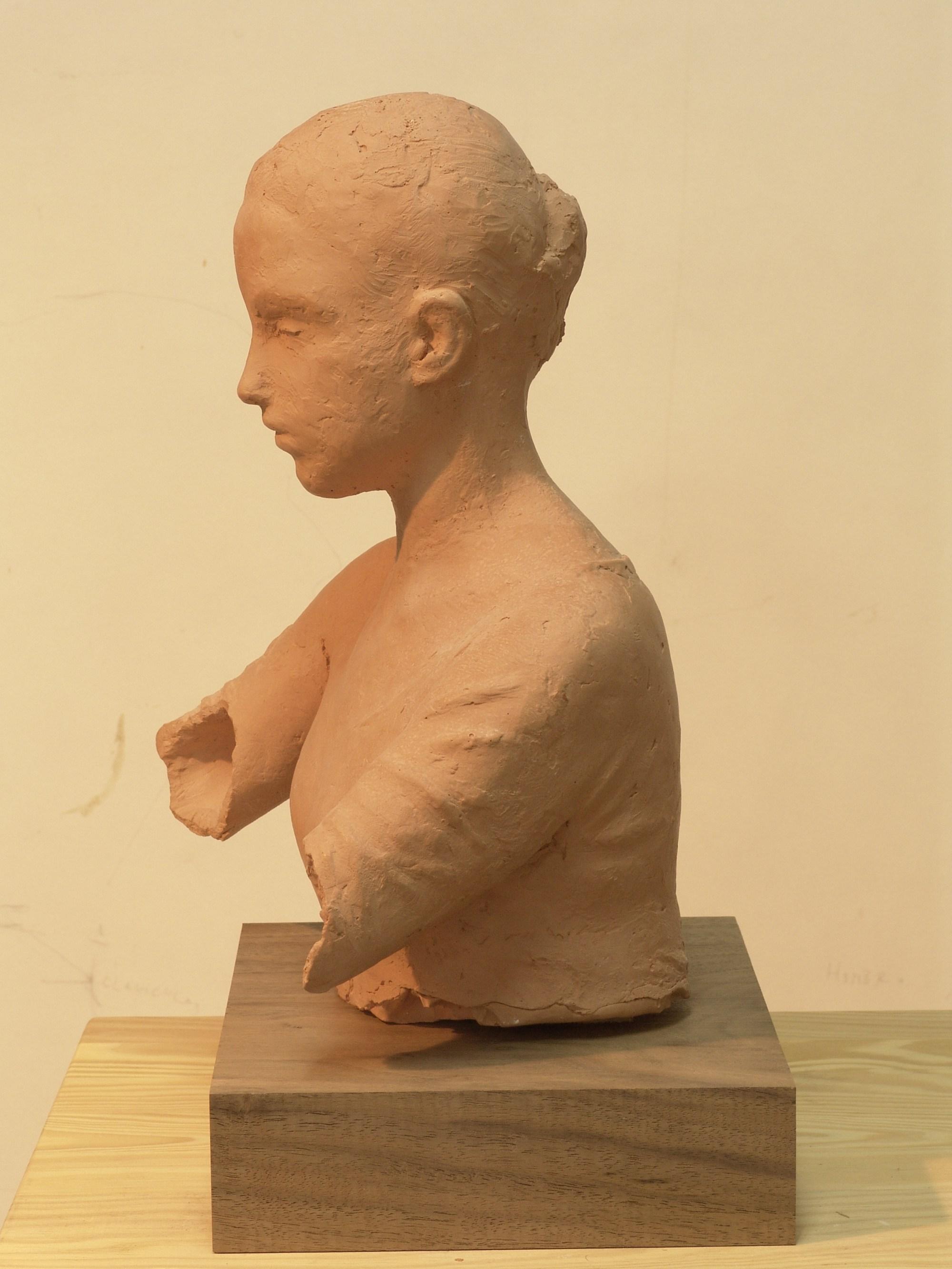 Pedro quesada  head  ceramiek  35x30x25 cm. %e2%82%ac 1000 00