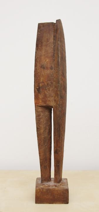Gerry van der velden  kluizenaar  oplage 3 van 5  brons  hoog 56 cm. breed 10 cm. diep 8 5 cm. %e2%82%ac 1400 00