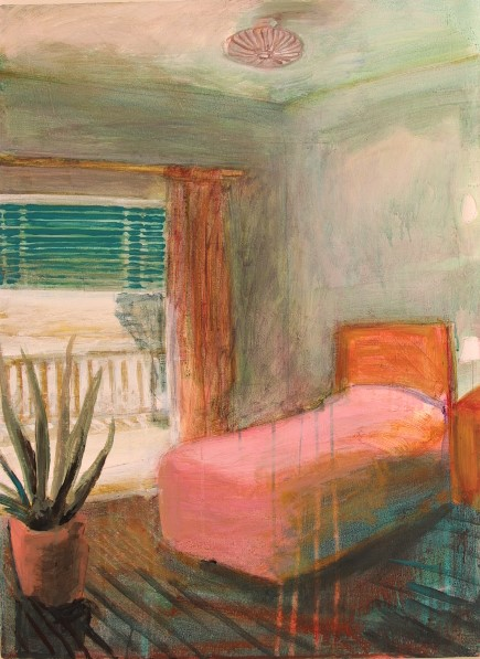 Tamara giesberts  appartement in portugal  acryl  90x90 cm. 2400 00