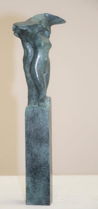 Eppe de haan  unitas ii  brons  oplage 10  hoog 30 cm. %e2%82%ac 1750 00